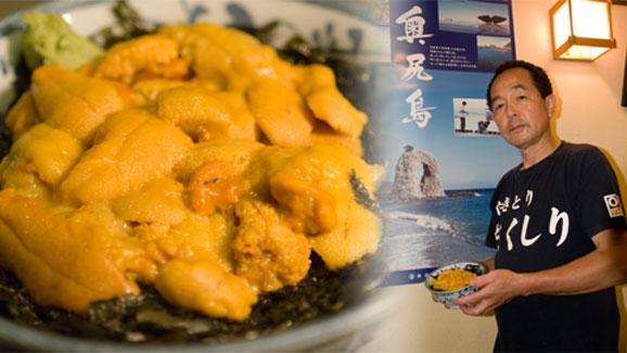 塩水生ウニ丼2
